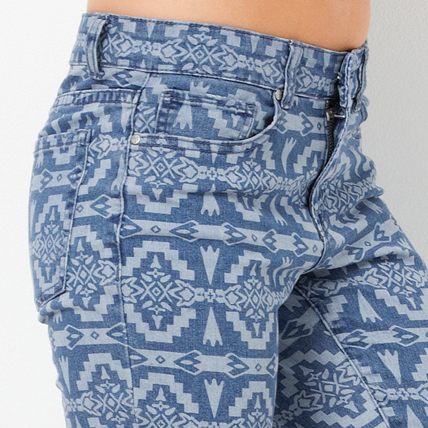 Target Hot Options Aztec Print Jeans