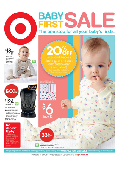 Underwears and Clothes in Target Baby Sale