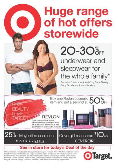 target catalogue huge range of hot- offers storewide