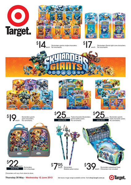 Target Toy Sale 2013 : Skylanders giants of target toy sale within stocktake