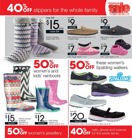 8bb0a3b63d7 Target Shoes Sale of Stocktake Catalogue 2013 with Reduced Prices