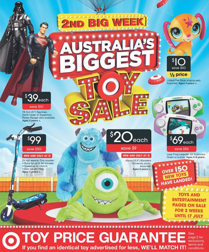 Target Toy Sale Australia : Target catalogue july second week of big toy sale
