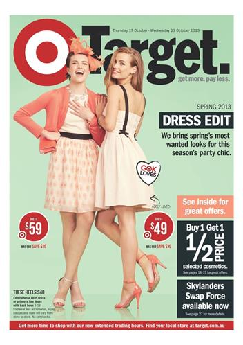target catalogue october 2013