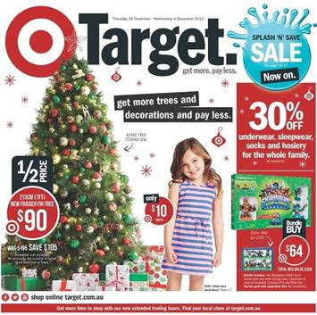 Target Christmas Catalogue 2013 December
