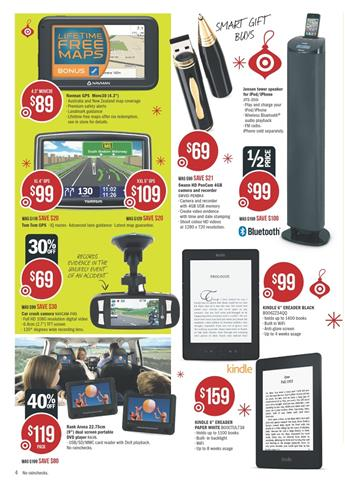 Electronic Gift Ideas with Navigations and Mobile Phones Target Catalogue