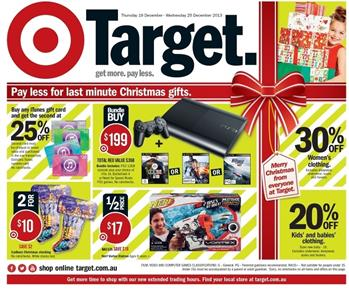 Target Christmas Catalogue Entertainment Gifts with Games
