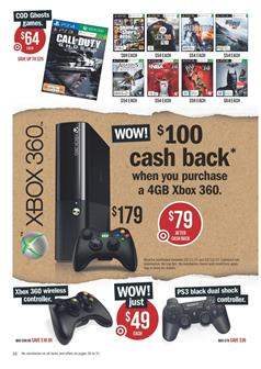 target catalogue boxing day sale xbox 360