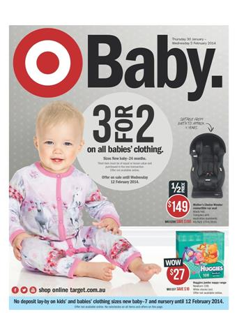 Target Baby Nursery Catalogue January 2014