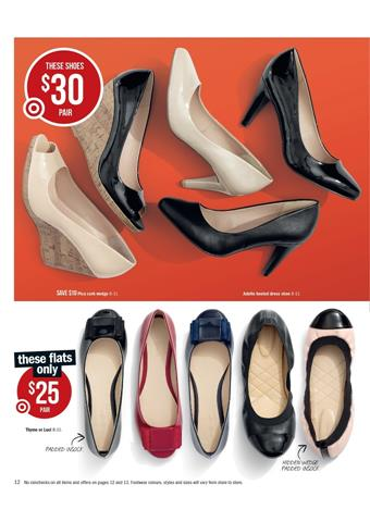 Target Women S Shoes January 2014