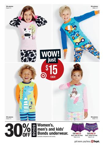 Discount For Target Kids Clothings February Selection