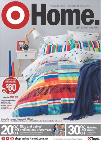 Huge Sale by Target Home Catalogue February 2014