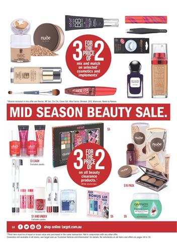 Target Catalogue Beauty Products From Last Week