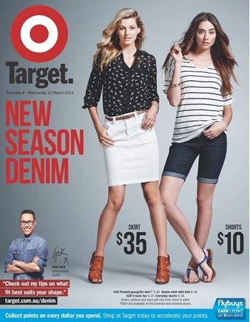 Target Catalogue Denim Products March 2014