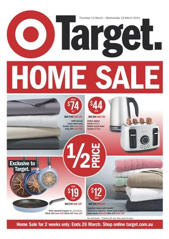 Target Catalogue Home Sale Two Weeks Valid Deals