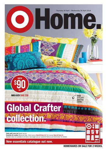 Target Catalogue Bedroom Collection for Aprils Last Week