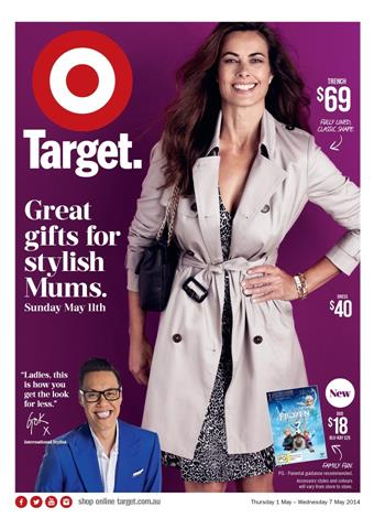 Target Catalogue Mothers Day Gift Ideas and Womens Clothings