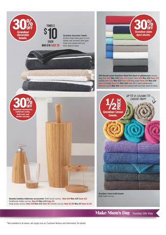 Discounts on Target Home Furnishings and Accessories