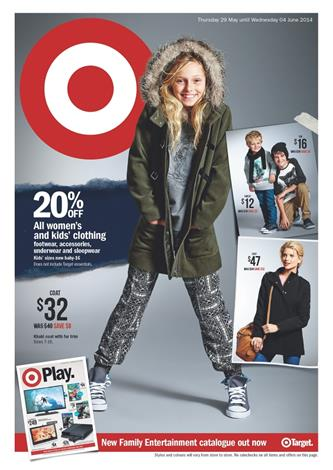 Target Game and Clothing Catalogues Featured