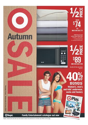 Target Autumn Home Sale Catalogue Reviewed