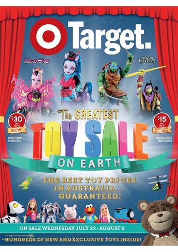 Target Catalogue Toy Sale July 2014