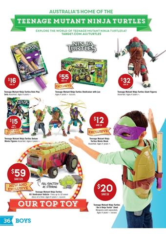 Target Teenage Mutant Ninja Turtles