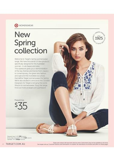 Target New Spring Collection September