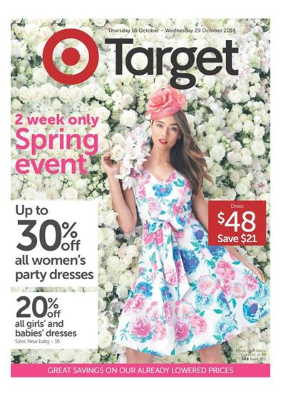 Target Catalogue Womens Spring Event