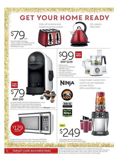 Amazing Kitchen Appliances by Target Christmas Gifts