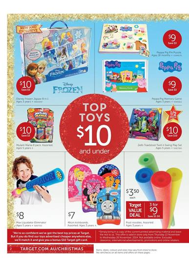 Special Selection Target Top Toys Christmas