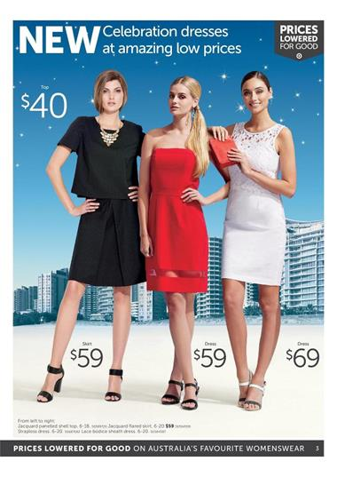 Target Catalogue Discounted Clothing Offers