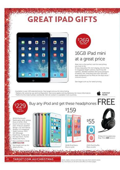 Target Christmas iPad and iPod Gifts