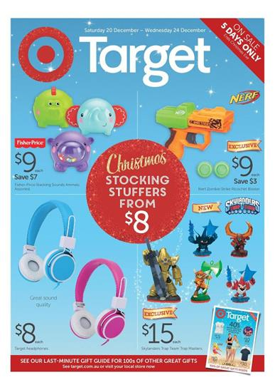Target Catalogue Gifts for Christmas Final Week