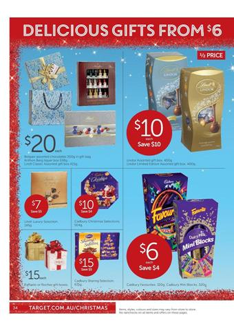 Target Christmas Gift Sale Hampers and Chocolates