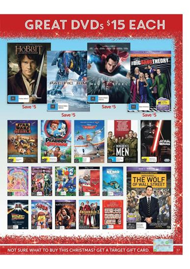DVD Movies Christmas Gift Deals
