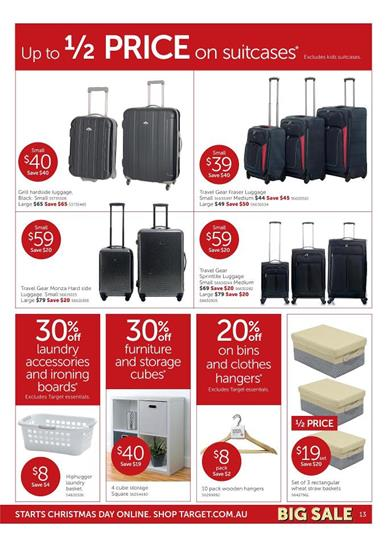 Target Products Catalogue Travelling Basics
