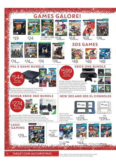 Target Wii and Disney Infinity Christmas Deals