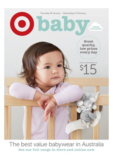 Target Baby Catalogue Clothing January 2015