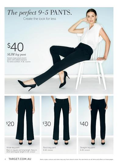 Target Catalogue Clothes January Women's and Men's