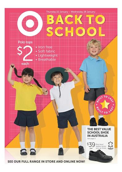 Target Catalogue February 2015 Back to School