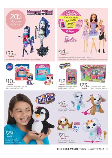 Target Catalogue Toys And Baby Products Current Prices