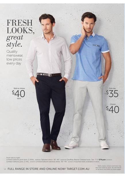 Mens Shirts Target Catalogue February 2015