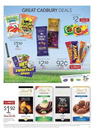 Easter Chocolate Target Catalogue March 2015