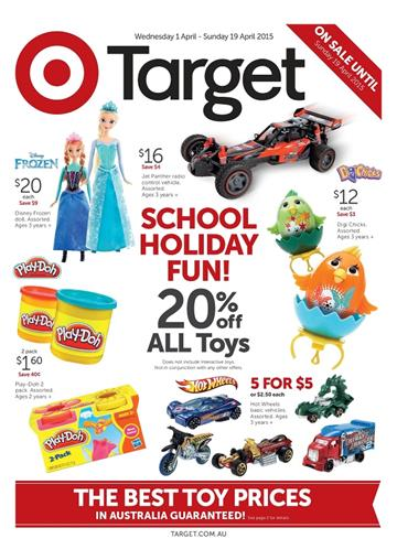 Target Catalogue Toys Easter Holiday 2015