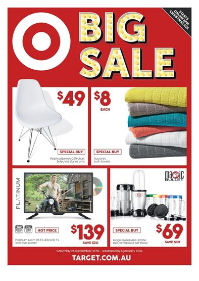 Target Boxing Day Sale Catalogue 2015