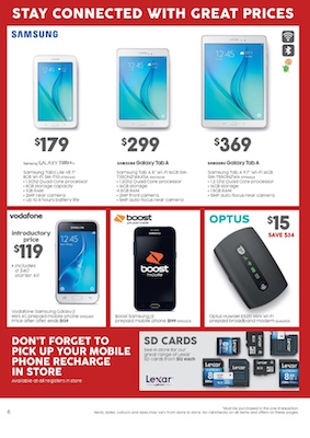 target catalogue samsung galaxy tab jun 2016
