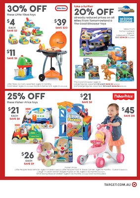 Target Catalogue Toy Sale Jun 2016