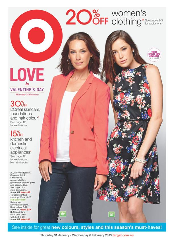 Target Catalogue - 20% Off Women-s Clothing