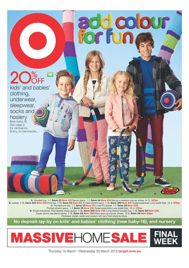 Target Catalogue - Add Colour For Fun 2013