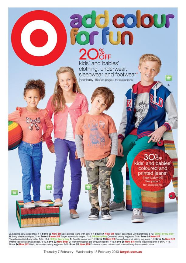 Target Catalogue - Add Colour For Fun