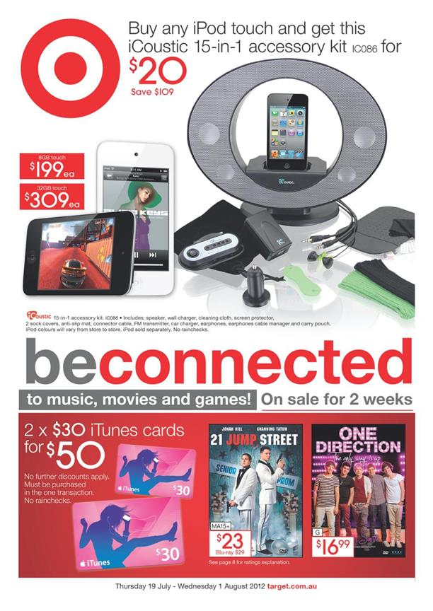 Target Catalogue - Be Connected To Music, Movies And Games!